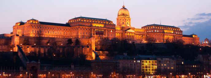 Budacastle in Budapest